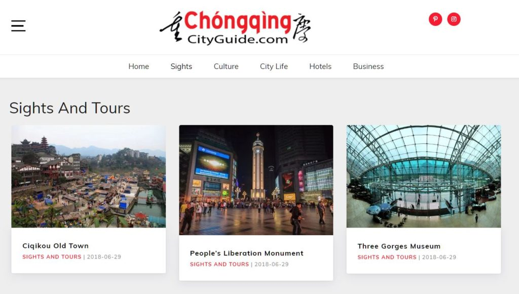 Chongqing City guide 2