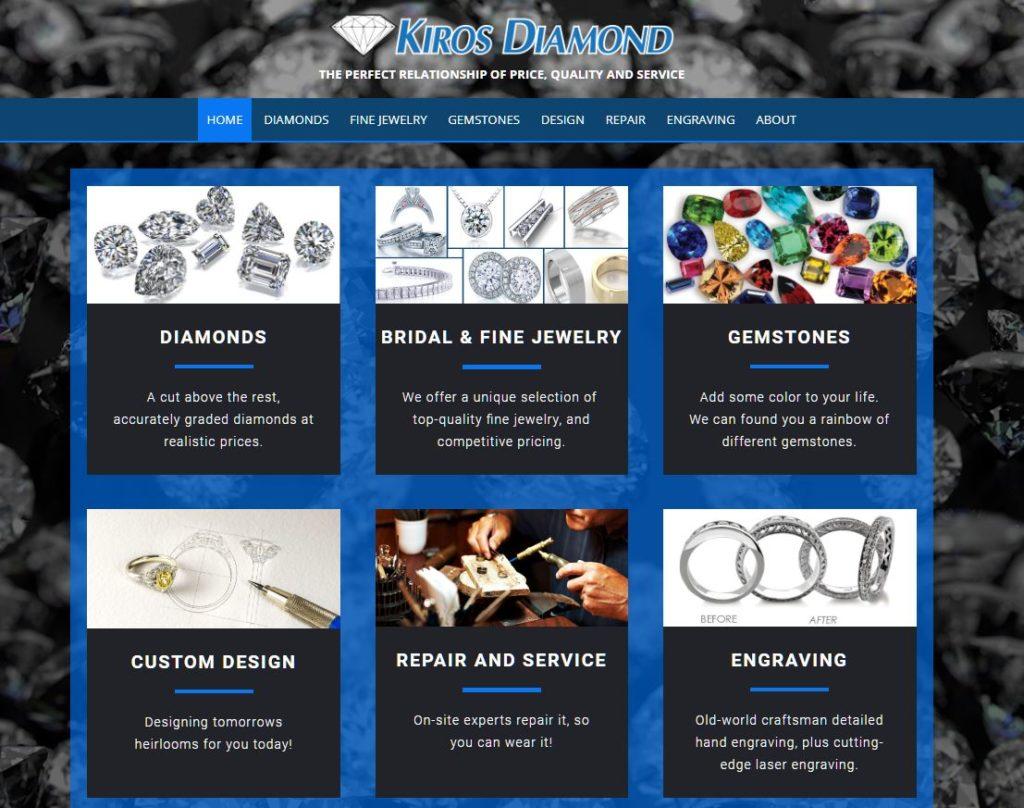 Kiros Web page 1