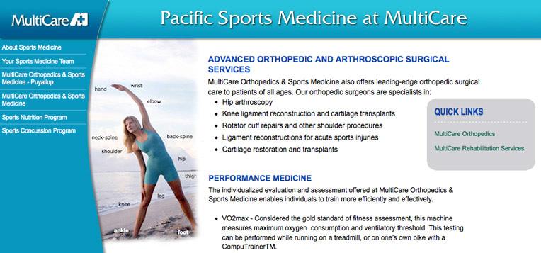 Pacific Sports Medicine